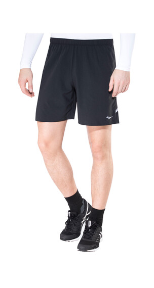 saucony Run Lux Short Men Black/Black